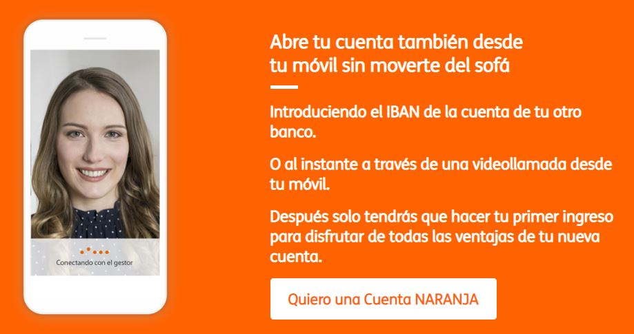 Abrir una Cuenta Naranja de ING
