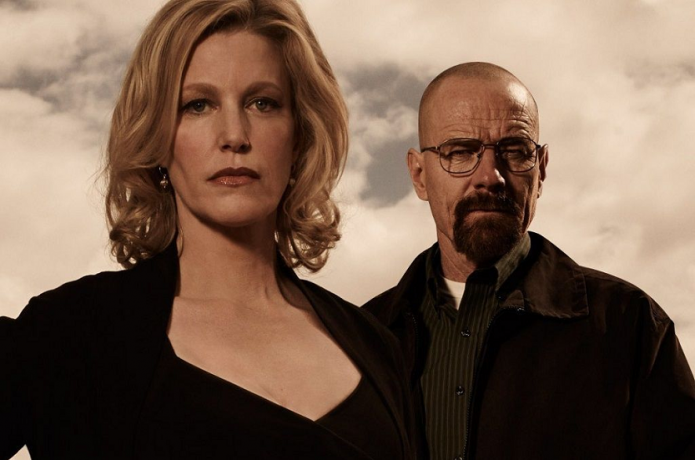 Breaking Bad Walter White y Skyler