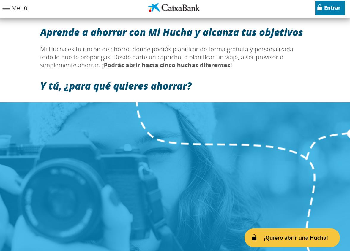 CaixaBank Mi Hucha