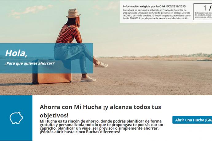 CaixaBank Mis Huchas