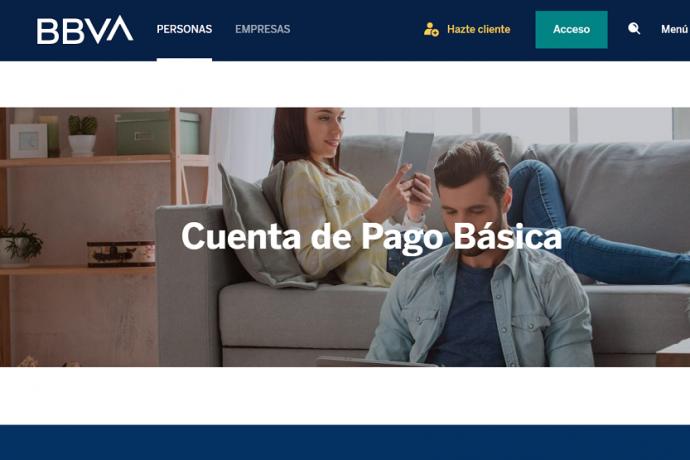 Cuenta de Pago Básica de BBVA_home