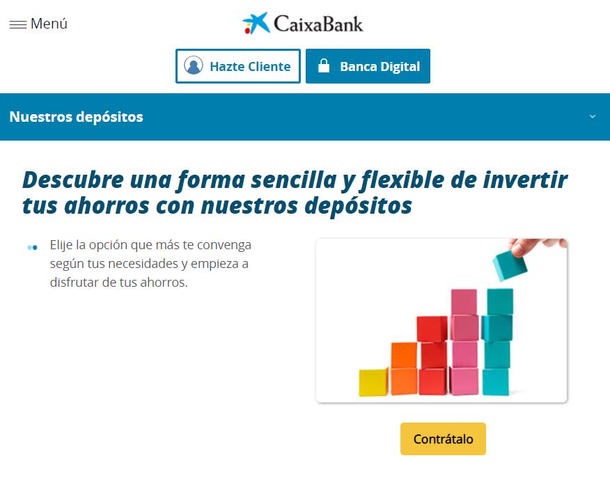 Depósitos Caixabank