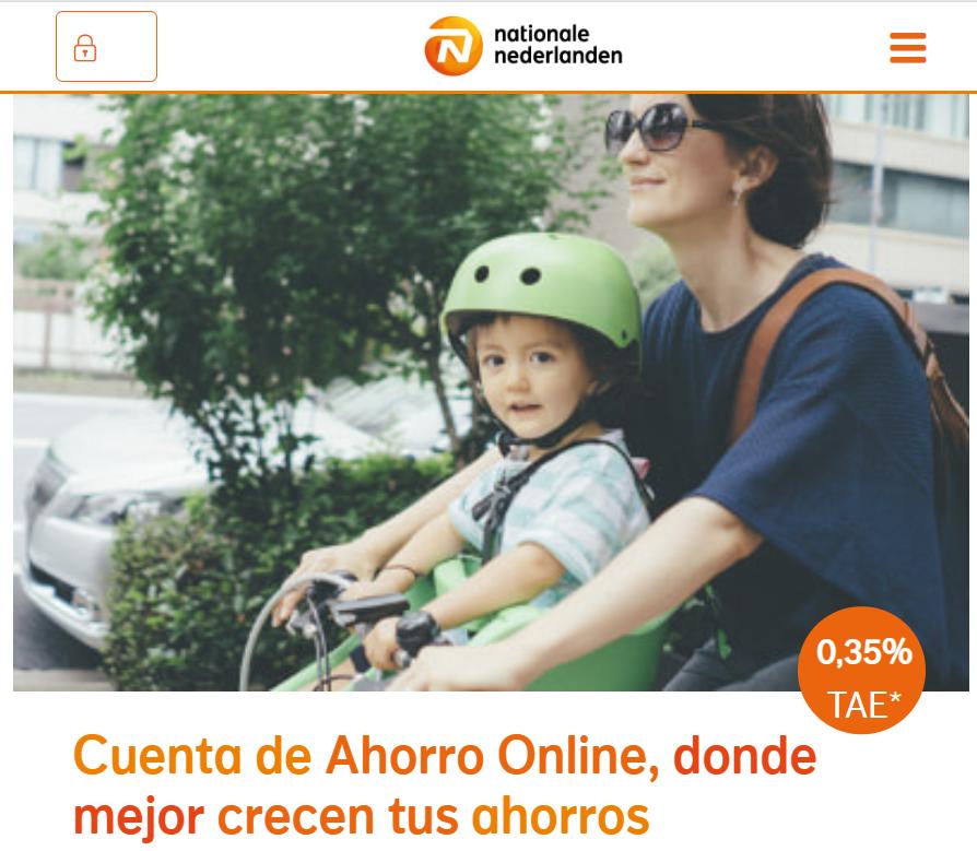 Cuenta de ahorro online NN Bank