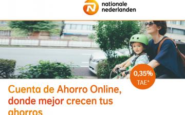 Cuenta de ahorro online Nationale Nederlanden