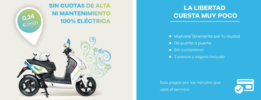eCooltra motos eléctricas