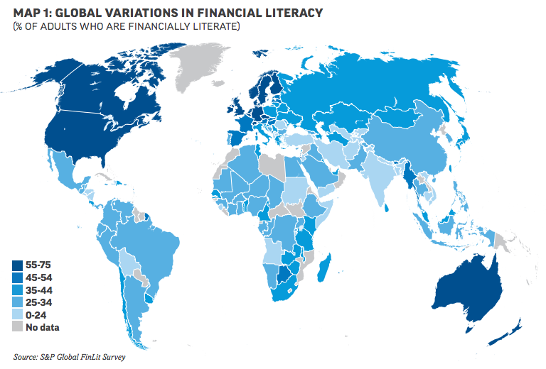S&P 2015 finlit around the world survey