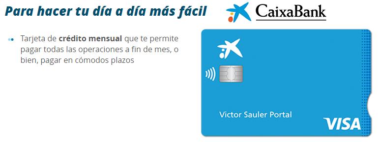Tarjeta VISA Caixabank