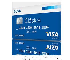 Tarjeta de crédito BBVA